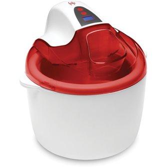 Sorbetière électrique rouge cherry 1,8 litre