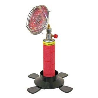 Chauffage radiant infrarouge de table à cartouche de gaz