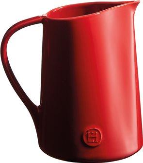Carafe ou pichet en céramique rouge Grand Cru Emile Henry
