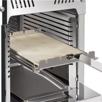 Pierre réfractaire 15x25 cm avec support pour Turbogrill