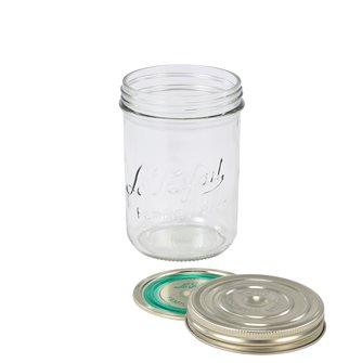 Bocal Familia  Wiss® 750 g avec sa capsule et son couvercle