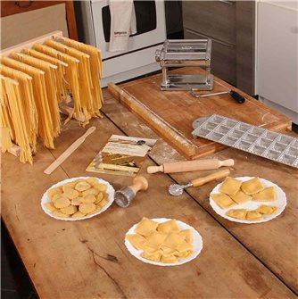 Faites des pâtes grâce au kit pâtes fraîches Tom Press