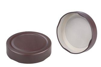 Capsule pour Bocal Jupe Haute diam 66 mm couleur marron par 790