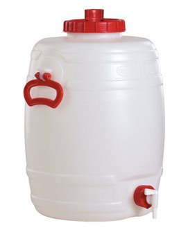 Tonnelet cylindrique 30 litres