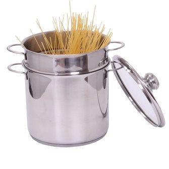 Cuiseur à pâtes inox 5 litres induction