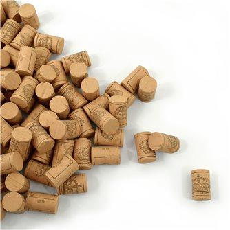 100 bouchons en liège colmaté pour vin de qualité supérieure VDQS 45x24 mm. catégorie 3